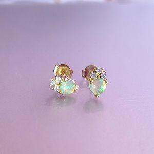 Jewelry - Opal Stud Earrings